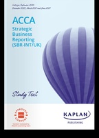 Used ACCA Kaplan SBR Study Text and Exam Kit in Dubai, UAE