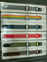 Used Silicone Bracelet Straps for Apple Watch in Dubai, UAE