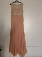 Used Light brown party dress in Dubai, UAE