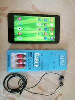 Used Huawei Tablet+ Headphone+ 3in1 Datacable in Dubai, UAE
