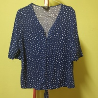 Used MAX blue dotted top in Dubai, UAE