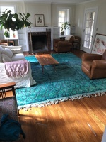 Used Moroccan rug in Dubai, UAE