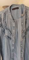 Used M&s denim top size 36 in Dubai, UAE