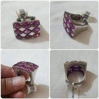 Used Silver Ring size-8 authentic *** in Dubai, UAE
