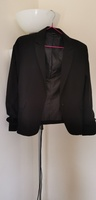 Used Black blazer size 12 uk in Dubai, UAE