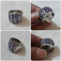 Used Original Silver Ring size-8-9** in Dubai, UAE