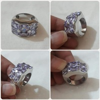 Used Authentic silver Ring size-7-8 ***, in Dubai, UAE