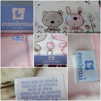 Used New blanket with box for baby boy in Dubai, UAE
