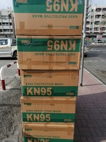 Used KN95 WITH FILTER full Ctn (1000 pcs) in Dubai, UAE