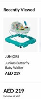 Used Juniors walker hardly used in Dubai, UAE