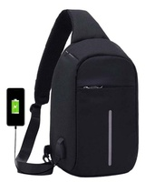 Used Anti theft backpack with usb charger in Dubai, UAE