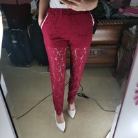 Used JOANNA red trousers with inside panties in Dubai, UAE