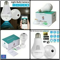 Used Spy Camera in LED bulb 360 view with voi in Dubai, UAE