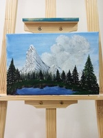 Used Acrylic Painting - Swiss Matterhorn in Dubai, UAE