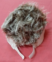 Used Spiked hair wig hat white and brown . in Dubai, UAE