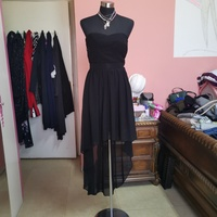 Used Offshoulder black sexy party dress in Dubai, UAE