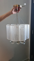 Used Crystal light chandelier in Dubai, UAE