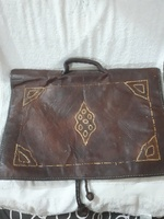 Used Antique original Leather Bag*** in Dubai, UAE