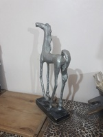Used Vintage Horse handmade decoration.. in Dubai, UAE