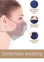 Used Soft 100%luxury Mulberry Silk Facemask in Dubai, UAE