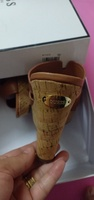 Used Authentic Guess  brown leather  sandals in Dubai, UAE