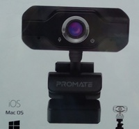 Used Promate webcam full HD new packed in Dubai, UAE