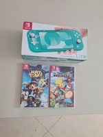 Used Nintendo Switch Lite + 2 Games - As New in Dubai, UAE