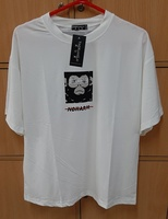 Used Monster shirt in white color for him ! in Dubai, UAE