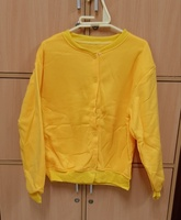 Used Sweat shirt yellow for him in M size ! in Dubai, UAE