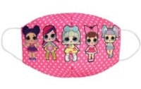 Used Face Mask for Kid L.O.L. Surprise Pink in Dubai, UAE