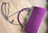 Used Royal Purple Clutch in Dubai, UAE