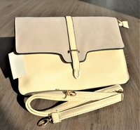 Used Two-toned Cream Purse in Dubai, UAE