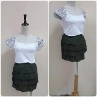 Used Brand new fabulous top with Skirt,.* in Dubai, UAE