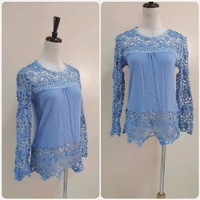 Used Blue top for Lady fabulous free size.** in Dubai, UAE