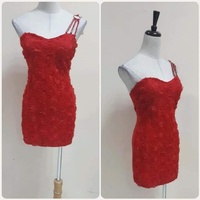 Used Brand new red short dress For lady*,. in Dubai, UAE