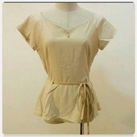 Used Brand new biege top for lady *** in Dubai, UAE