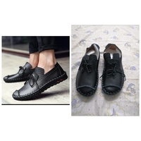 Used Man Loafers Leather Casual shoes size 40 in Dubai, UAE