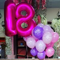Used balloons in Dubai, UAE