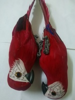 Used simulation parrot red( 2pcs) in Dubai, UAE