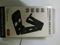 Used Foldable Swivel phone stand White in Dubai, UAE