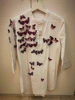 Used 3D butterfly white tunic in Dubai, UAE