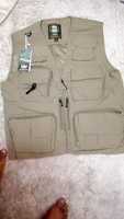 Used Outdoor lightweight mesh fabric vest kha in Dubai, UAE