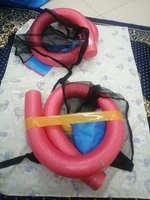 Used Swimming pool floating chairs Red 2 pcs in Dubai, UAE