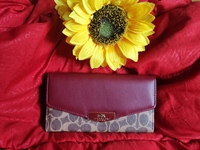 Used COACH LONG WALLET RED in Dubai, UAE