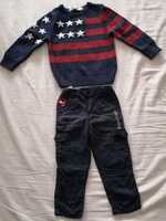 Used Sweater and pants size 24 months in Dubai, UAE