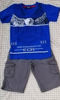 Used Short and t-shirt size 5-6 years in Dubai, UAE