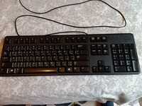 Used Dell office keyboard in Dubai, UAE