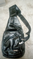 Used Leather sling bag in Dubai, UAE