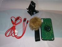 Used Phone case, data cable, phone stand in Dubai, UAE
