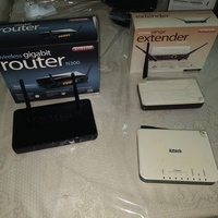 Used Router + extender in Dubai, UAE